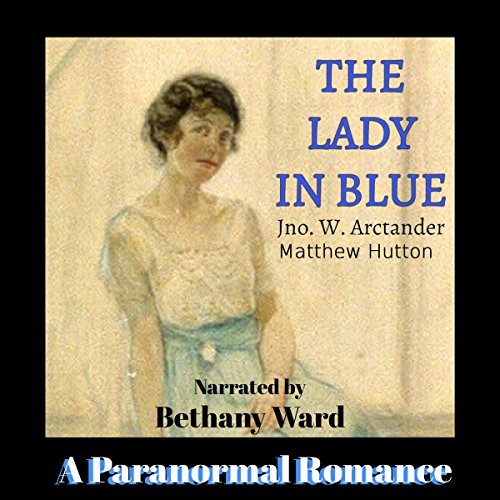 The Lady in Blue audiobook cover art