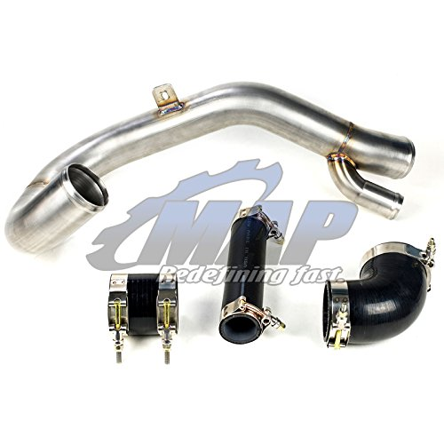 MAPerformance Bolt-On Lower Intercooler Pipe LICP for 2008-2015 Mitsubishi Evolution/EVO X 10