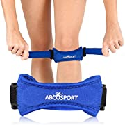 Patella Knee Strap for Knee Pain Relief for Hiking, Soccer, Basketball, Volleyball & Squats (1 Piece)