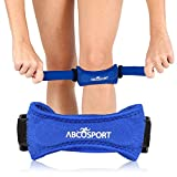 Patella Knee Strap for Knee Pain Relief for Hiking, Soccer, Basketball, Volleyball & Squats (1...