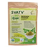 Polvo de Moringa SVATV (polvo de hoja de Moringa Oleifera) 1/2 LB, 08 oz, 227g USDA certificado