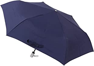 [ムーンバット] urawaza(ウラワザ) 自動開閉式折りたたみ傘 無地 55㎝【3秒で折りたためる傘】