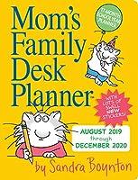 Mom's Family デスクプランナー 2020 [6インチ x 8インチ]
