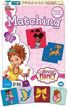 Wonder Forge Disney Junior Fancy Nancy Matching Game