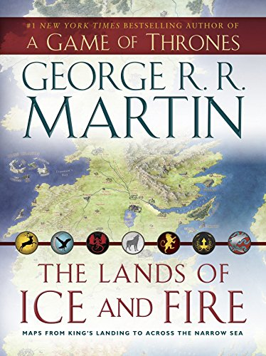 The lands of ice and fire: maps from kings landing to across the narrow sea