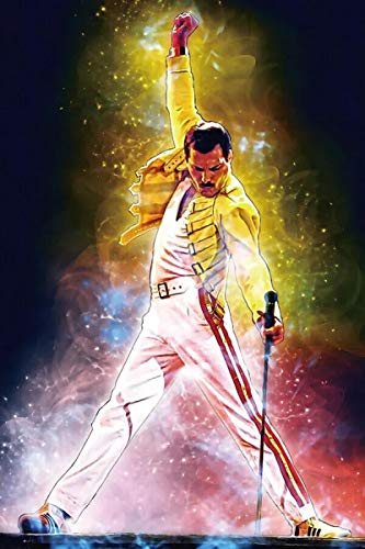 qianyuhe Impresión en Lienzo Freddie Mercury Rock Music Band Star Hot