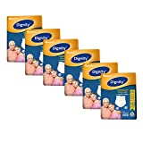 Dignity Overnight Pull Up Adult Diapers, Large-Extra Large, Waist Size 34' - 59', 10 Pcs/Pack (Pack of 6) 60 pcs