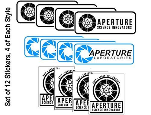 Starbase 79 Aperture Laboratories Sticker Assortment