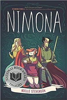 [By Noelle Stevenson ] Nimona  Paperback 【2018】by Noelle Stevenson  Author   Paperback
