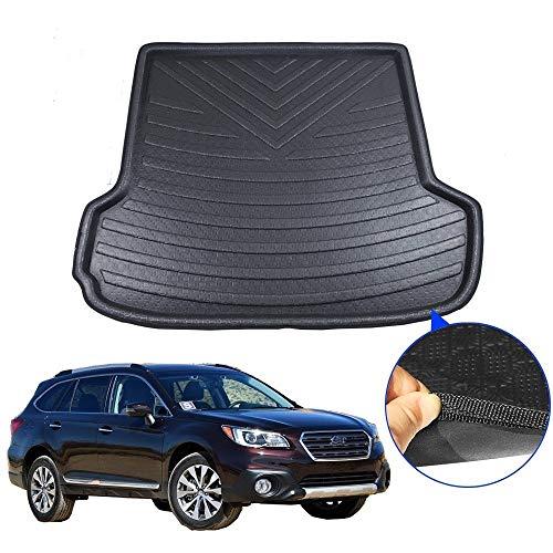SYJY-SHOP Auto-Kofferraum-Matten-Auto-Boot-Matten-Auto-Boot-Schutz-Auto-Kofferraum-Matte for Subaru Outback 2015 2016 2017 2018 Geruchs-