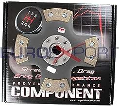 Competition Clutch 4 Puck Rigid/Solid Clutch Disc for Honda 1.6L B16 1.8L B18 2.0L B20 99785-0420