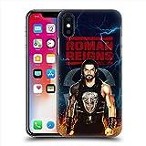 WWE ダブルダブルイー (40周年) - ロマンレインズ Roman Reigns/LED Image ハード case/iPhoneケース 【公式/オフィシャル】
