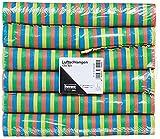 Idena 8274040 Juego de serpentinas de papel, 12 rollos con 18 tiras cada uno, decoración, fiesta de cumpleaños infantil, carnaval, fiesta temática