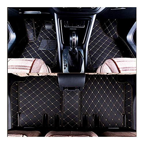 GIAOGIAO Custom Special Car Floor Mats Fit for Porsche Cayenne E3 2020-2018 Waterproof Durable Car Carpets Car Mats (Color Name : Brown)