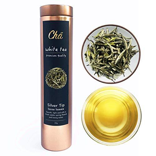 Silbernadel Weiβer Tee / Premium Güteklasse / Bai Hao Yin Zhen
