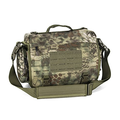 Direct Action Messenger Tactical Bag Kryptek Mandrake Mk I 10 Liter Capacity, Ideal for Laptop, ipad or Tablet