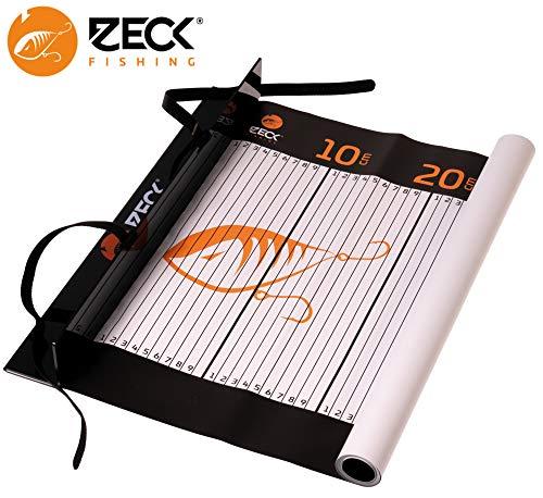 Zeck Unhooking Ruler 140x40cm - Abhakmatte mit Maßband zum Raubfischangeln, Fischmaßband, Fischmatte, Measure Mat für Hechte