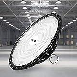 100W UFO Faretto LED, Proiettore 10000LM Lampada da Officina, IP65...