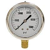 Stens Pressure Washer Gauge 758-974,Gold