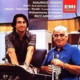Bach: Brandenburg Concerto No. 2 / Haydn Telemann Torelli TRumpet Concertos / Maurice Andre / Philharmonia Orchestra / Muti (EMI)