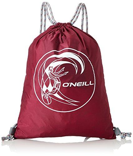 O 'Neill – Mochila con Bolsillos BM Gym, Hombre, BM Gym Sack, Beajolais, 0