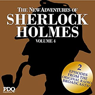 The New Adventures of Sherlock Holmes: The Golden Age of Old Time Radio Shows, Vol. 4 cover art
