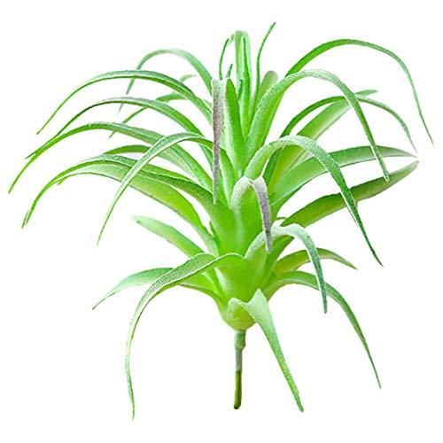 JUSTDOLIFE Suculenta Artificial DIY Bromelias Decorativas Planta Artificial Suculenta Falsa