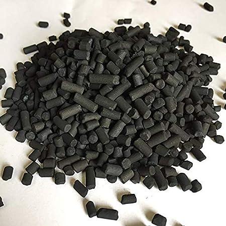 Charbon Actif vendu en sachet de 1kg 2kg / seau de 5kg 10kg / sac de 25kg - Granulés Haute Pureté Purification Filtration de l'Air, Filtre à charbon, Aquarium, Caves à Vin, Hotte (2kg)