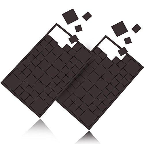 Reorda® Magnetplättchen selbstklebend (116 Stück) | Starker Kleber ermöglicht hohe Klebekraft | Vielseitige Flache Magnete zum basteln & schneiden | Ideal nutzbar für Schule, Büro & Tafeln