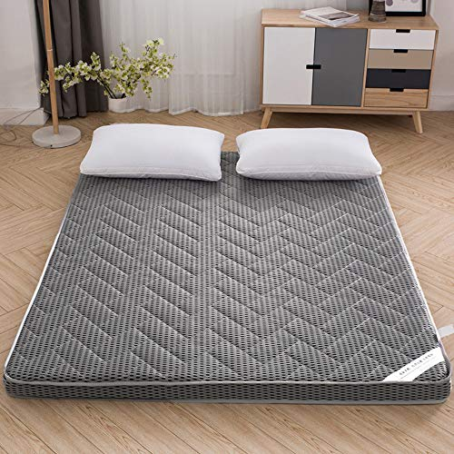 smzzz Home Decoration Accessories Memory Foam Mattresses Topper Gray 6CM4D Bamboo Charcoal Stereo Bedding Comfortable Breathable Mattress