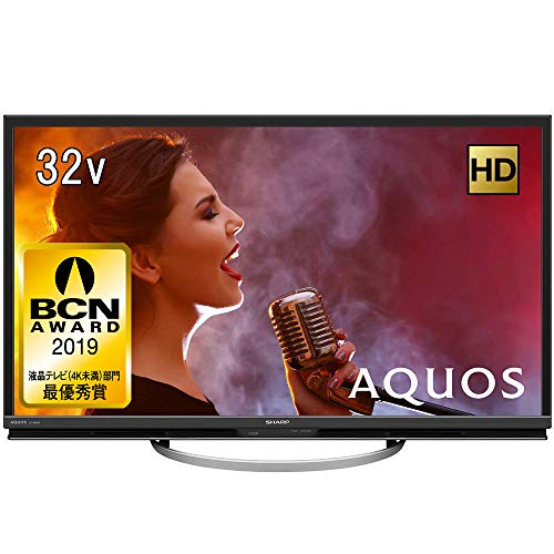 『シャープ 32V型 液晶 テレビ AQUOS LC-32W5 ハイビジョン 外付HDD対応(裏番組録画) アナログRGB端子付』の1枚目の画像