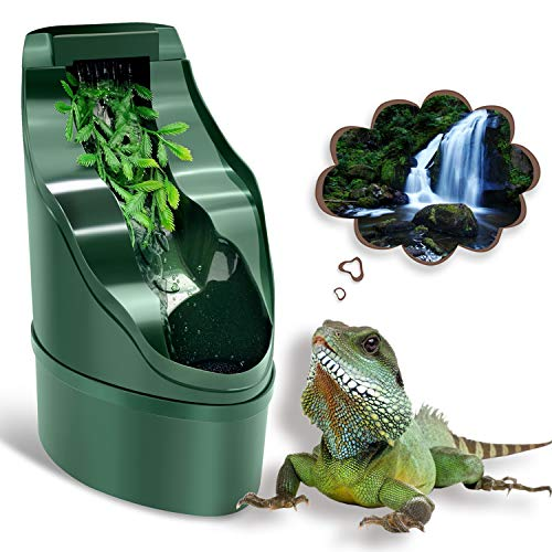 Best Reptile Fountain for Reptiles That Tip Over Water Bowls