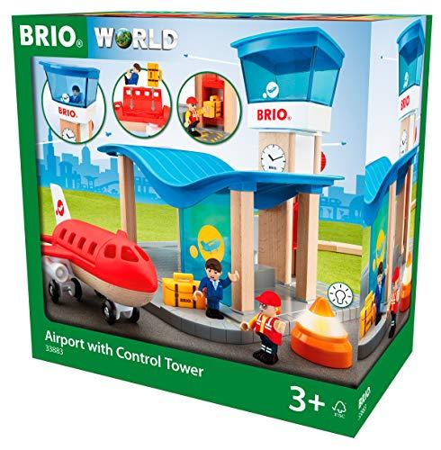 BRIO Bahn 33883 - Flughafen mit Tower