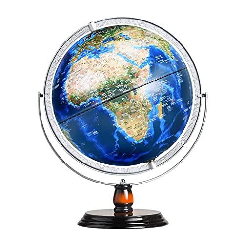 World Globe City Light Globe 12in Light-Up World Globe Con Base Antiscivolo In Colore Sfumato Mappamondo Per Adulti O Bambini (Color : World globes)