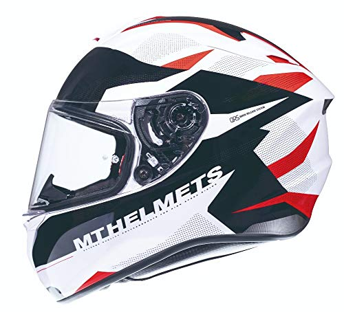 CASCO MT TARGO ENJOY FF106 ROJO PERLADO BRILLO (M)