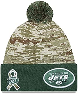 New Era Men's NFL 2015 New York Jets Salute to Service Knit Hat