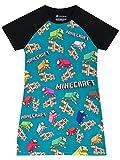 Minecraft Mädchen Nachthemd 146