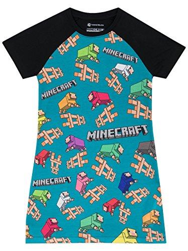 Minecraft Mädchen Nachthemd 152