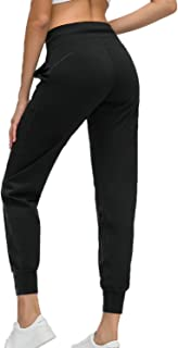 Arasiyama Women's Active Yoga Pants Sweatpants with Pockets Soft Lounge Trousers for Training Athletic Running Gym Workout