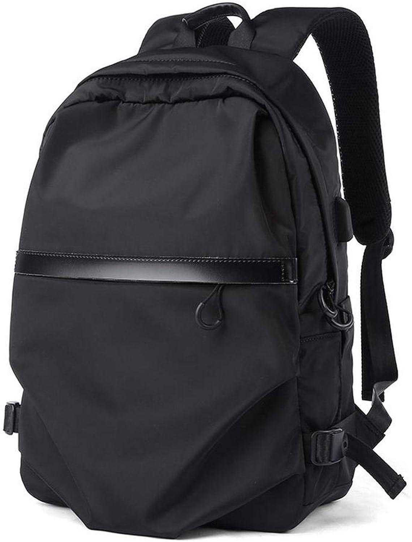 Business Computer Ruckscke Rucksack Herren Student Bag Casual Einfache Computer Tasche Reiserucksack Schwarz
