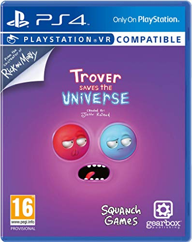 Trover Saves The Universe [Psvr] Ps4- Playstation 4