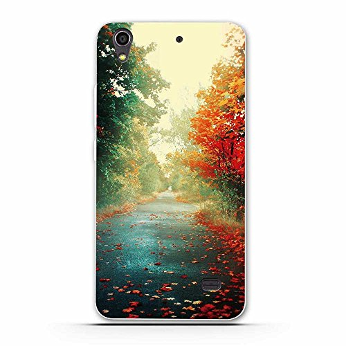 FUBAODA für Huawei Ascend G620S Hülle, Wilde Schlachtfeld Soldat Serie TPU Hülle Schutzhülle Silikon Hülle für Huawei Ascend G620S (G621 Honor Play 4)