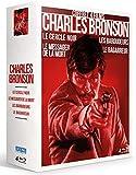 Charles Bronson - Coffret 4 films : Le Cercle noir + Le Messager de la mort + Les Baroudeurs + Le Bagarreur [Francia] [Blu-ray]