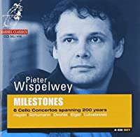 Milestones - Six Cello Concertos Spanning 200 Years by Pieter Wispelwey (2001-09-11)