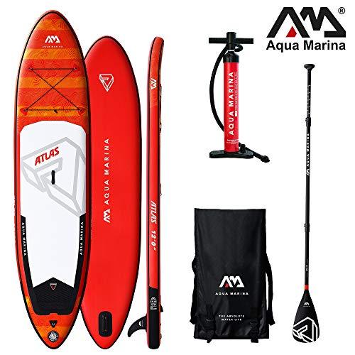 Aqua Marina Atlas aufblasbares SUP Modell 2019 - ISUP, Stand Up Paddelboard 366x84x15cm