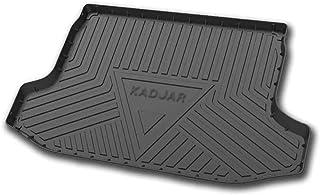 ZYLFP per Volvo XC90 2016-2020 Posteriore Bagagliaio Fodera Gomma Protezione Antipolvere E Impermeabile Tappetini per Bagagliaio
