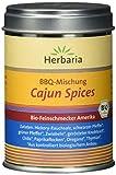 Herbaria 'Cajun Spices' Gewürzmischung für BBQ u. Pfannengerichte, 1er Pack (1 x 80 g Dose) - Bio
