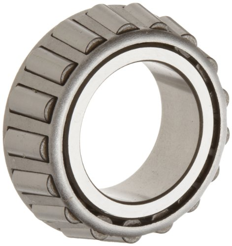 Timken 02475 Tapered Roller Bearing Inner Race Assembly Cone, Steel, Inch, 1.2500