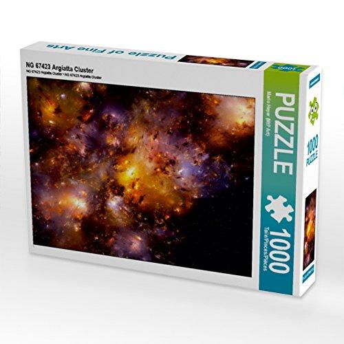 CALVENDO Puzzle NG 67423 Argiatta Cluster 1000 Teile Lege-Größe 64 x 48 cm Foto-Puzzle Bild von MTP von Explodi