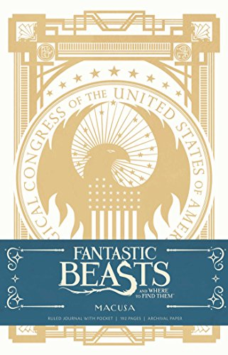 Fantastic Beasts and Where to Find them: MACUSA Hardcover Ruled Journal (ANGLAIS)